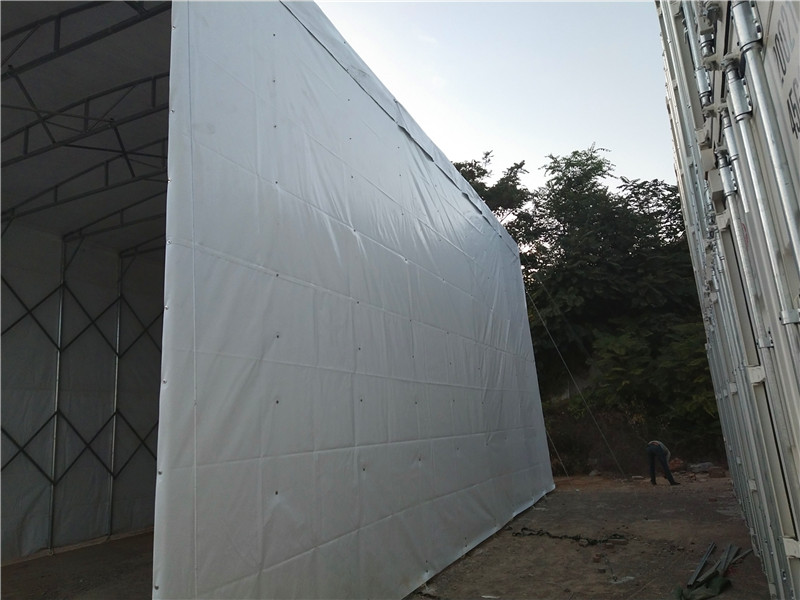 伸缩雨棚安装方法介绍