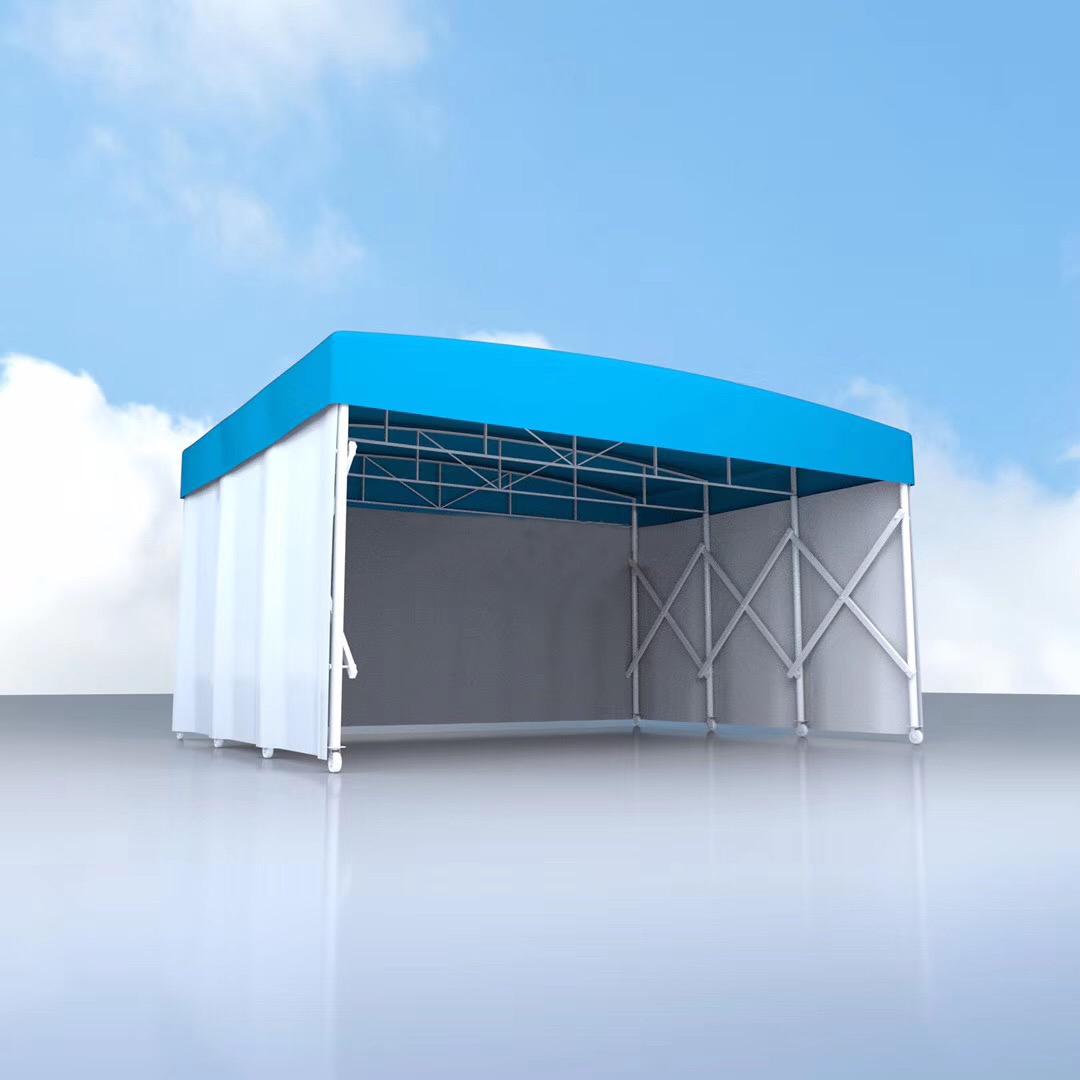 活动雨棚哪家好,移动推拉篷厂家