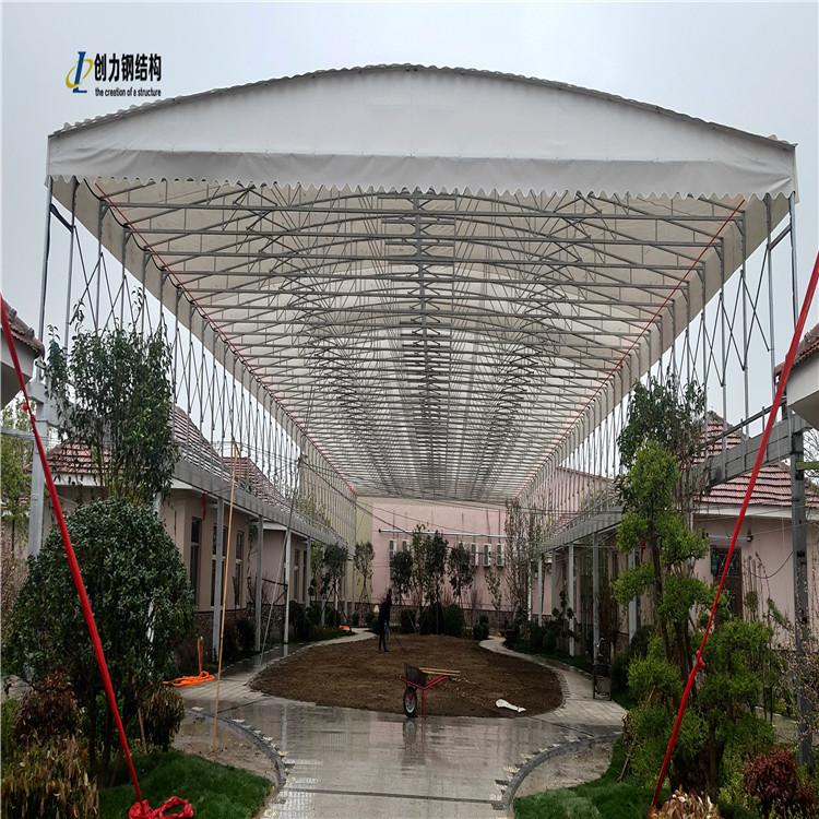 在使用推拉雨篷雨棚的时候要怎样来延长它的寿命呢?