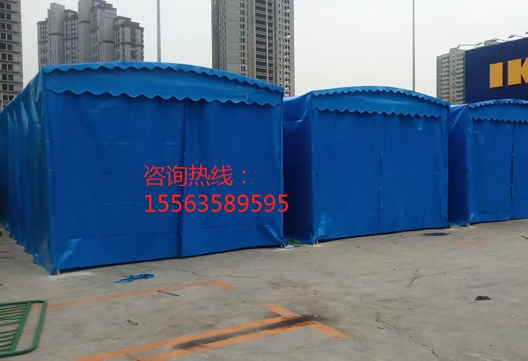 济南宜家家居安装的活动雨棚_山东创力蓬房科技有限公司
